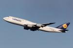 kosiさんが、羽田空港で撮影したルフトハンザドイツ航空 747-830の航空フォト(写真)