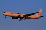 武彩航空公司(むさいえあ)さんが、羽田空港で撮影した日本航空 767-346/ERの航空フォト(写真)