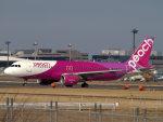Mame @ TYOさんが、成田国際空港で撮影したピーチ A320-214の航空フォト(写真)