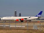 Mame @ TYOさんが、成田国際空港で撮影したスカンジナビア航空 A340-313Xの航空フォト(写真)
