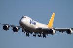 Mame @ TYOさんが、成田国際空港で撮影したポーラーエアカーゴ 747-87UF/SCDの航空フォト(写真)