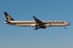 木人さんが、成田国際空港で撮影したシンガポール航空 777-312/ERの航空フォト(写真)