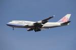 utarou on NRTさんが、成田国際空港で撮影したチャイナエアライン 747-409の航空フォト(写真)