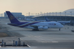 honetarokunさんが、関西国際空港で撮影したタイ国際航空 A380-841の航空フォト(写真)