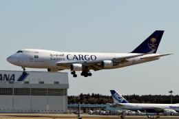 コージーさんが、成田国際空港で撮影したサウディア 747-428F/ER/SCDの航空フォト(写真)