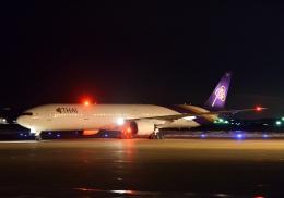 Cygnus00さんが、新千歳空港で撮影したタイ国際航空 777-3D7の航空フォト(写真)