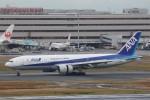 OS52さんが、羽田空港で撮影した全日空 777-281の航空フォト(写真)