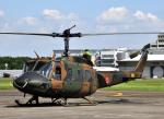 チャーリーマイクさんが、立川飛行場で撮影した陸上自衛隊 UH-1Jの航空フォト(写真)