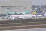 みきてぃさんが、ペインフィールド空港で撮影したエチオピア航空 787の航空フォト(写真)
