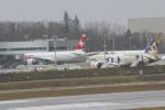 みきてぃさんが、ペインフィールド空港で撮影したスイスインターナショナルエアラインズ 777-3DE/ERの航空フォト(写真)