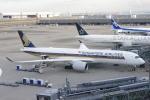 みきてぃさんが、羽田空港で撮影したシンガポール航空 A350-941XWBの航空フォト(写真)