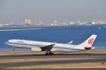 fortnumさんが、羽田空港で撮影した中国国際航空 A330-343Xの航空フォト(写真)