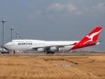 51ANさんが、羽田空港で撮影したカンタス航空 747-438の航空フォト(写真)
