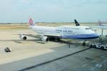 GRX135さんが、台湾桃園国際空港で撮影したチャイナエアライン 747-409の航空フォト(写真)