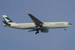 セブンさんが、新千歳空港で撮影したキャセイパシフィック航空 A330-343Xの航空フォト(写真)
