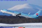 Chofu Spotter Ariaさんが、新千歳空港で撮影した大韓航空 737-9B5/ER の航空フォト(写真)