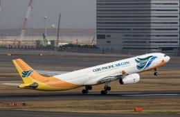 スポット110さんが、羽田空港で撮影したセブパシフィック航空 A330-343Eの航空フォト(写真)