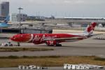 あんこさんが、関西国際空港で撮影したエアアジア・エックス A330-343Eの航空フォト(写真)