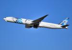 雲霧さんが、成田国際空港で撮影したエジプト航空 777-36N/ERの航空フォト(写真)