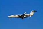 武彩航空公司(むさいえあ)さんが、羽田空港で撮影したウェルズ・ファーゴ・バンク・ノースウェスト G-V-SP Gulfstream G550の航空フォト(写真)