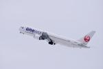 ひこ☆さんが、新千歳空港で撮影した日本航空 767-346の航空フォト(写真)