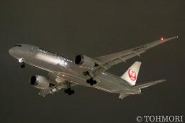 遠森一郎さんが、福岡空港で撮影した日本航空 787-846の航空フォト(写真)