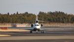 raichanさんが、成田国際空港で撮影したアルジー・エクスプレス Falcon 7Xの航空フォト(写真)