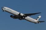 木人さんが、成田国際空港で撮影したキャセイパシフィック航空 777-367の航空フォト(写真)