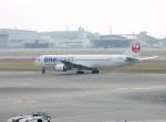 よんすけさんが、那覇空港で撮影した日本航空 767-346の航空フォト(写真)