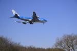 ☆ライダーさんが、成田国際空港で撮影したKLMオランダ航空 747-406Mの航空フォト(写真)