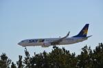 toyoquitoさんが、神戸空港で撮影したスカイマーク 737-8ALの航空フォト(写真)