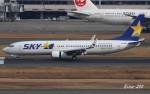 RINA-200さんが、羽田空港で撮影したスカイマーク 737-86Nの航空フォト(写真)