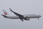 HEATHROWさんが、成田国際空港で撮影した日本航空 767-346/ERの航空フォト(写真)