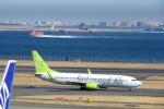 timeさんが、羽田空港で撮影したソラシド エア 737-81Dの航空フォト(写真)