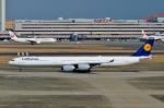 Bluewingさんが、羽田空港で撮影したルフトハンザドイツ航空 A340-642の航空フォト(写真)