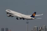 GNPさんが、羽田空港で撮影したルフトハンザドイツ航空 A340-642Xの航空フォト(写真)