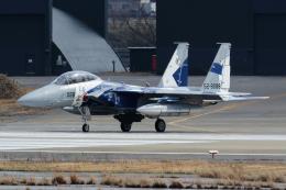 もっはさんが、小松空港で撮影した航空自衛隊 F-15DJ Eagleの航空フォト(写真)
