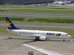 flyflygoさんが、羽田空港で撮影したスカイマーク 737-8HXの航空フォト(写真)