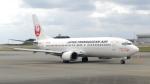 誘喜さんが、那覇空港で撮影した日本トランスオーシャン航空 737-446の航空フォト(写真)