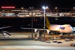 多摩川崎2Kさんが、羽田空港で撮影したポーラーエアカーゴ 747-46NF/SCDの航空フォト(写真)