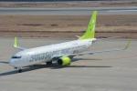 SKY☆101さんが、神戸空港で撮影したソラシド エア 737-86Nの航空フォト(写真)