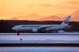 バーダーさんさんが、新千歳空港で撮影した日本航空 777-246の航空フォト(写真)