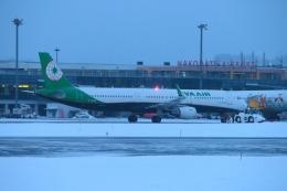 KAMIYA JASDFさんが、函館空港で撮影したエバー航空 A321-211の航空フォト(写真)