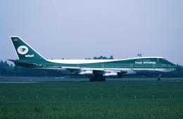 トロピカルさんが、成田国際空港で撮影したイラク航空 747-270C/SCDの航空フォト(写真)