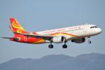 よっさんさんが、鹿児島空港で撮影した香港航空 A320-214の航空フォト(写真)
