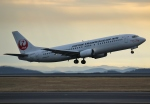 だいまる。さんが、岡山空港で撮影した日本トランスオーシャン航空 737-446の航空フォト(写真)