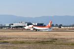 mamemashinさんが、佐賀空港で撮影したティーウェイ航空 737-8ASの航空フォト(写真)