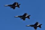 NFファンさんが、厚木飛行場で撮影したアメリカ海軍 F/A-18E Super Hornetの航空フォト(写真)