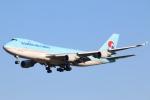 まえちゃさんが、成田国際空港で撮影した大韓航空 747-4B5F/ER/SCDの航空フォト(写真)