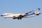 まえちゃさんが、成田国際空港で撮影した日本貨物航空 747-4KZF/SCDの航空フォト(写真)